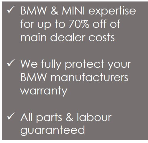Independent BMW specialist